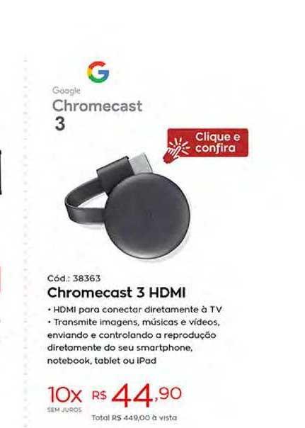 Ibyte Chromecast 3 Hdmi