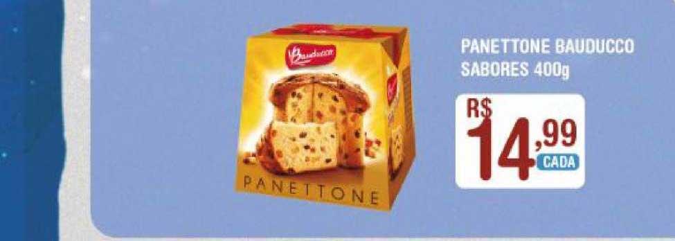 Extrabom Supermercados Panettone Bauducco