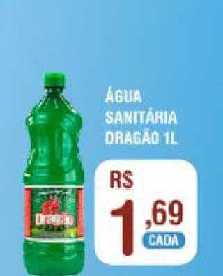 Extrabom Supermercados água Sanitária Dragão