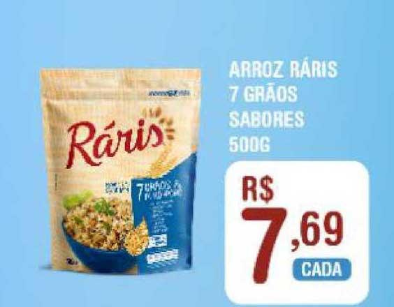 Extrabom Supermercados Arroz Ráriz 7 Grãos