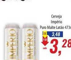 Supermercados BH Cerveja Império Puro Malte