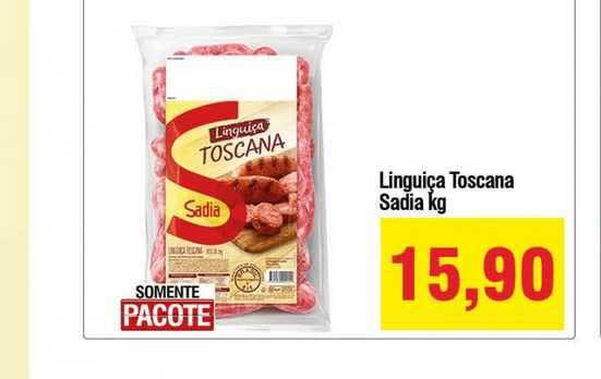 Spani Atacadista Linguiça Toscana Sadia