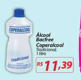 Mercadorama álcool Bacfree Coperalcool