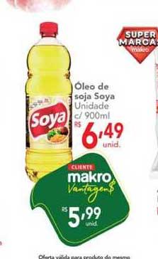 Makro óleo De Soja Soya