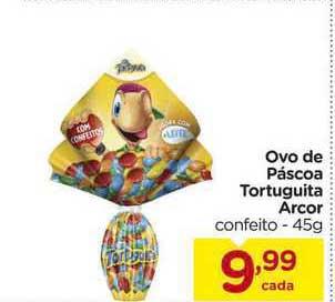 Carrefour Ovo De Páscoa Tortuguita Arcor