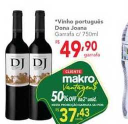 Makro Vinho Português Dona Joana