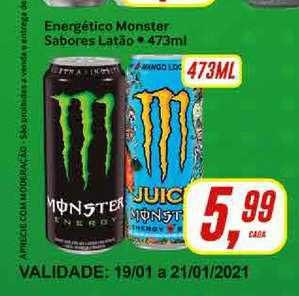 Rede Supermarket Energético Monster