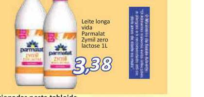Supermercados Savegnago Leite Longa Vida Parmalat Zymil Zero Lactose