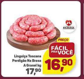 Supermercados São Vicente Linguiça Toscana Perdigão Na Brasa A Granel