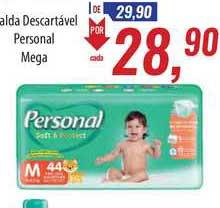 Supermercados BH Fralda Descartável Personal Mega