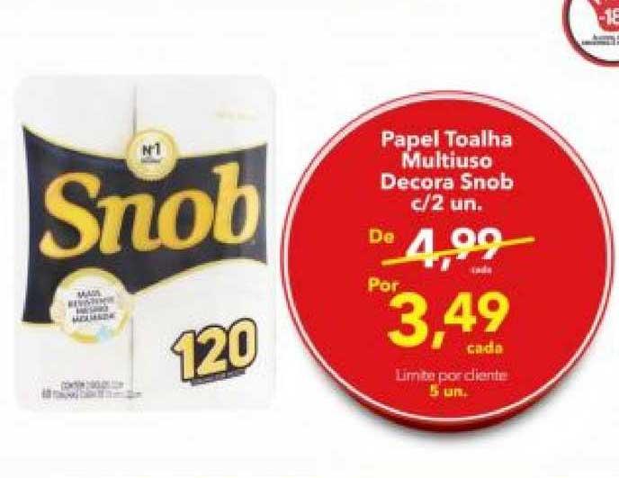 Lopes Supermercados Papel Toalha Multiuso Decora Snob C 2