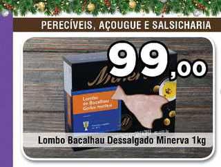 Copercana Lombo Bacalhau Dessalgado Minerva