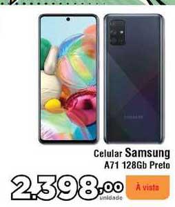 Copercana Celular Samsung A71 128gb Preto