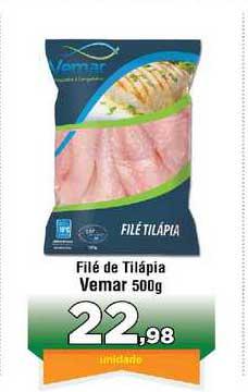 Copercana Filé De Tilápia Vemar