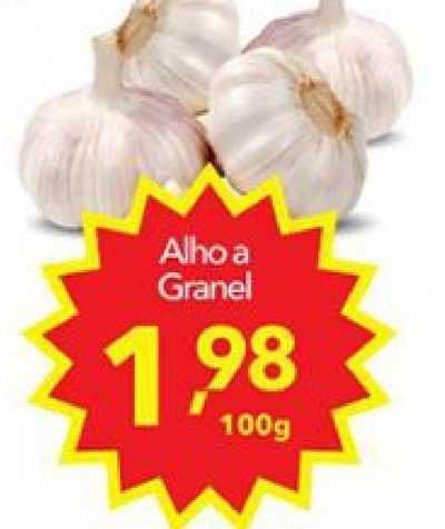 Lopes Supermercados Alho A Granel