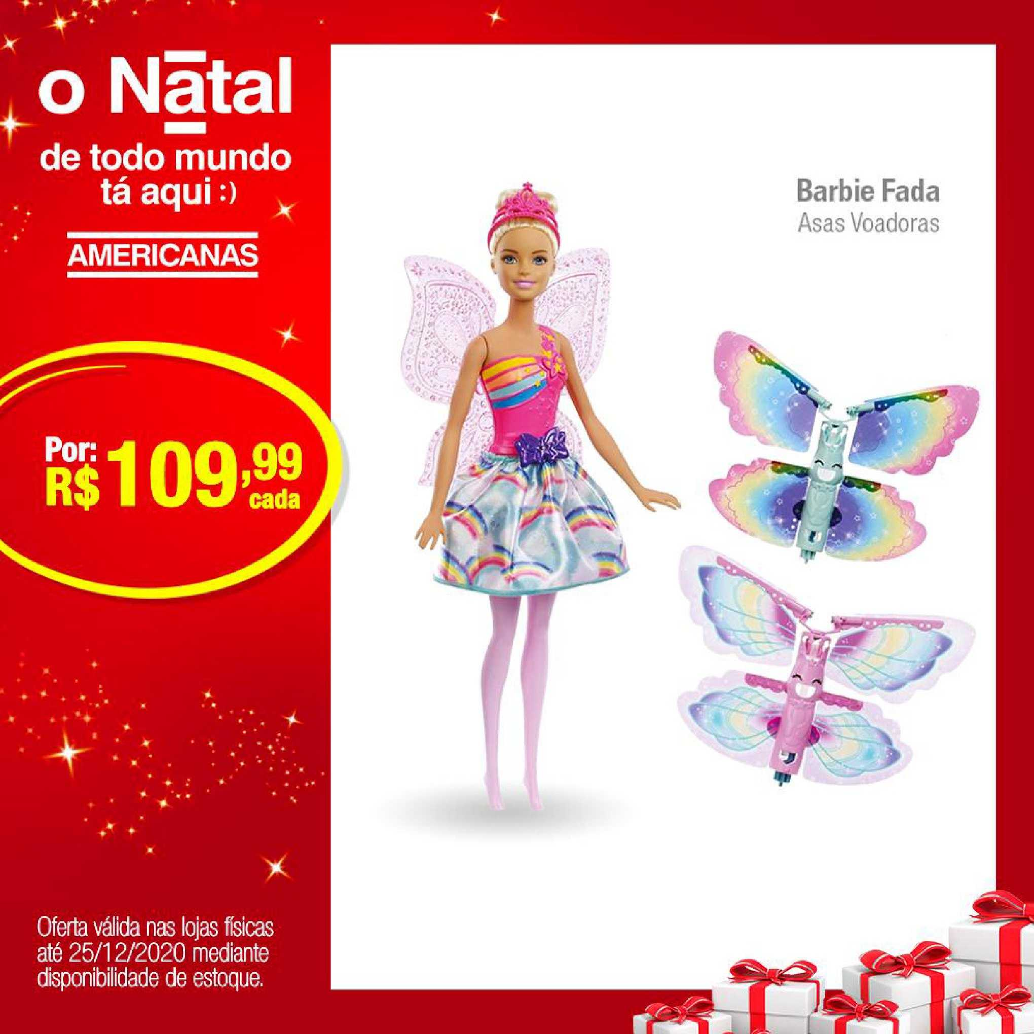 Lojas Americanas Barbie Fada