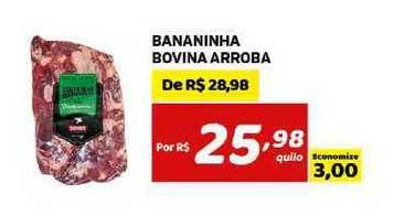 Bahamas Mix Bananinha Bovina Arroba