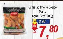 Supermercados BH Camarão Inteiro Cozido Maris