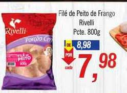 Supermercados BH Filé De Peito De Frango Rivelli
