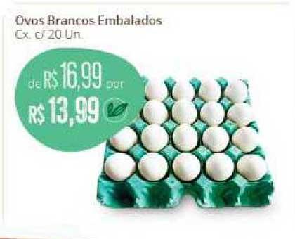 Natural Da Terra Ovos Brancos
