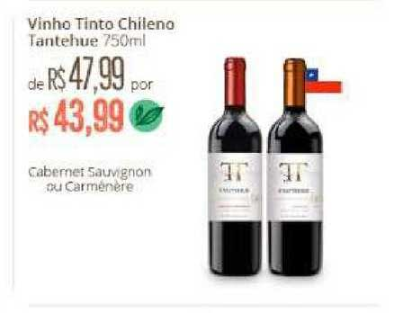 Natural Da Terra Vinho Tinto Chileno Tantehue