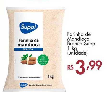 Supermercados Imperatriz Farinha De Mandioca Branca Supp
