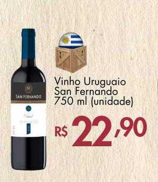 Supermercados Imperatriz Vinho Uruguaio San Fernando