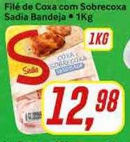 Rede Supermarket Filé De Coxa Com Sobrecoxa Sadia