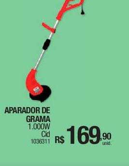Milium Aparador De Grama 1.000w Cid
