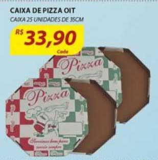 Assaí Atacadista Caixa De Pizza Oit