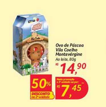 Hipermercado Big Ovo De Páscoa Vila Coelho Montevérgine Ao Leite