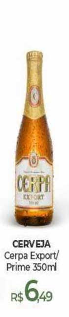 Peg Pese Cerveja Cerpa Export-prime 350ml