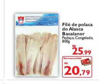 TodoDia Filé De Polaca Do Alasca Bacalanor