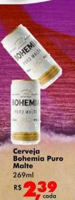 Big Box Cerveja Bohemia Puro Malte
