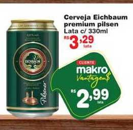 Makro Cerveja Eichbaum Premium Pilsen