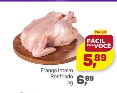 Supermercados São Vicente Frango Inteiro Resfriado