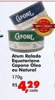 Big Box Atum Ralado Equatoriano Capone óleo Ou Natural