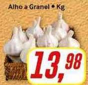 Rede Supermarket Alho A Granel