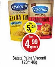 Royal Supermercados Batata Palha Visconti