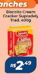 Atakarejo Biscoito Cream Cracker Supradely