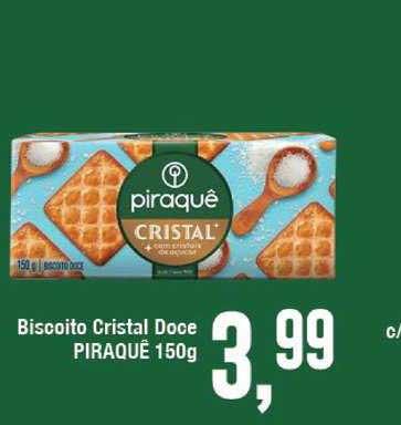 Rede Economia Biscoito Cristal Doce Piraquê