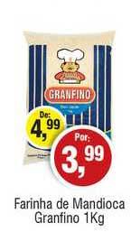 Royal Supermercados Farinha De Mandioca Granfino