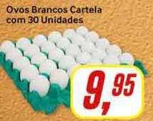 Rede Supermarket Ovos Brancos Cartela