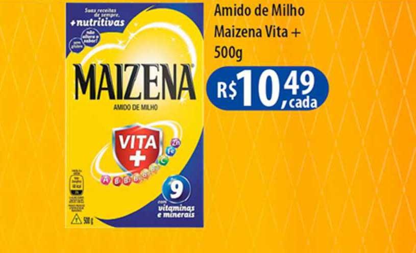 Shibata Supermercados Amido De Milho Maizena Vita+