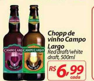 Mercadorama Chopp De Vinho Campo Largo