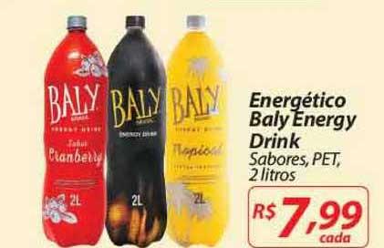 Mercadorama Energético Baly Energy Drink
