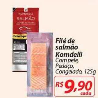 Mercadorama Filé De Salmão Komdelli