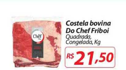 Nacional Costela Bovina Do Chef Friboi