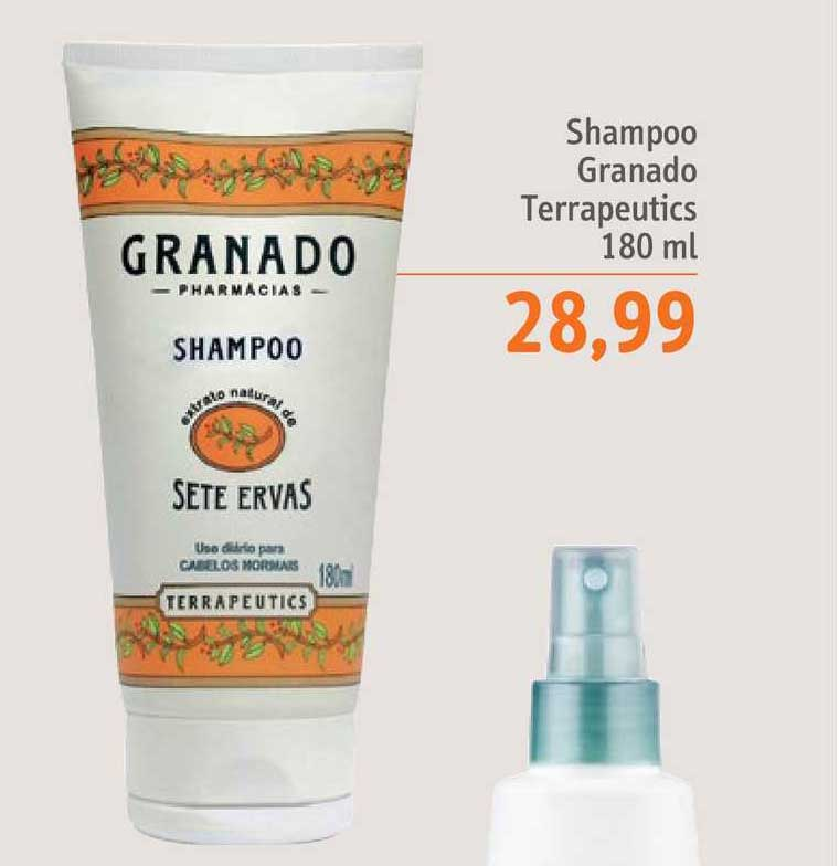 Sonda Supermercados Shampoo Granado Terrapeutics