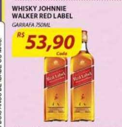 Assaí Atacadista Whisky Johnnie Walker Red Label